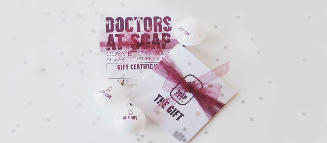 GIFT SEASON AT SOAP TREATMENT STORE